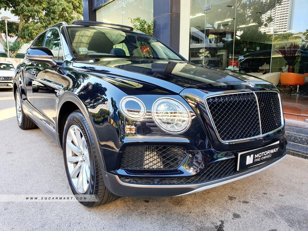 Bentley Bentayga Diesel 4 0a Motorway Group Of Companies